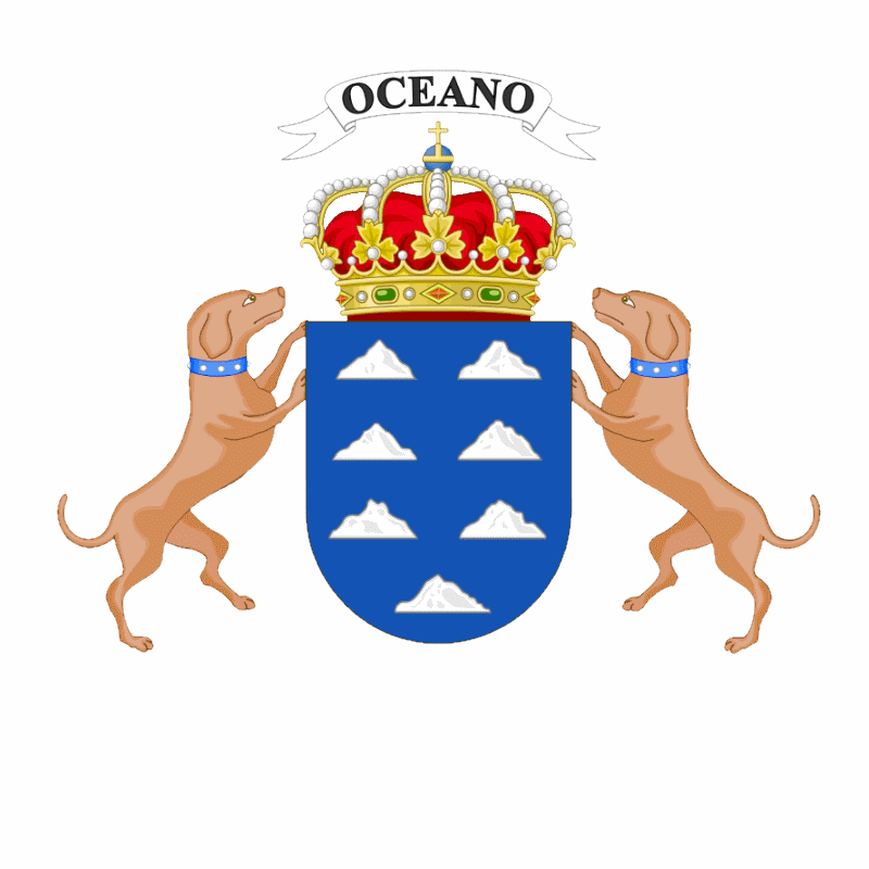 Badge of Canary Islands