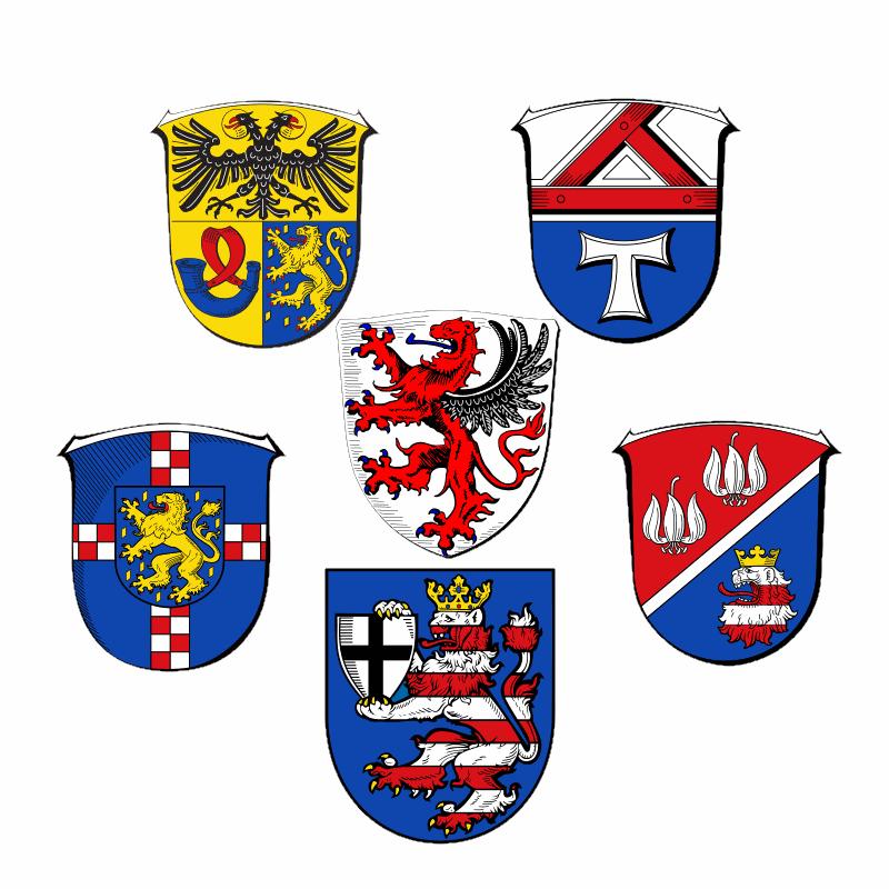 Badge of Regierungsbezirk Gießen
