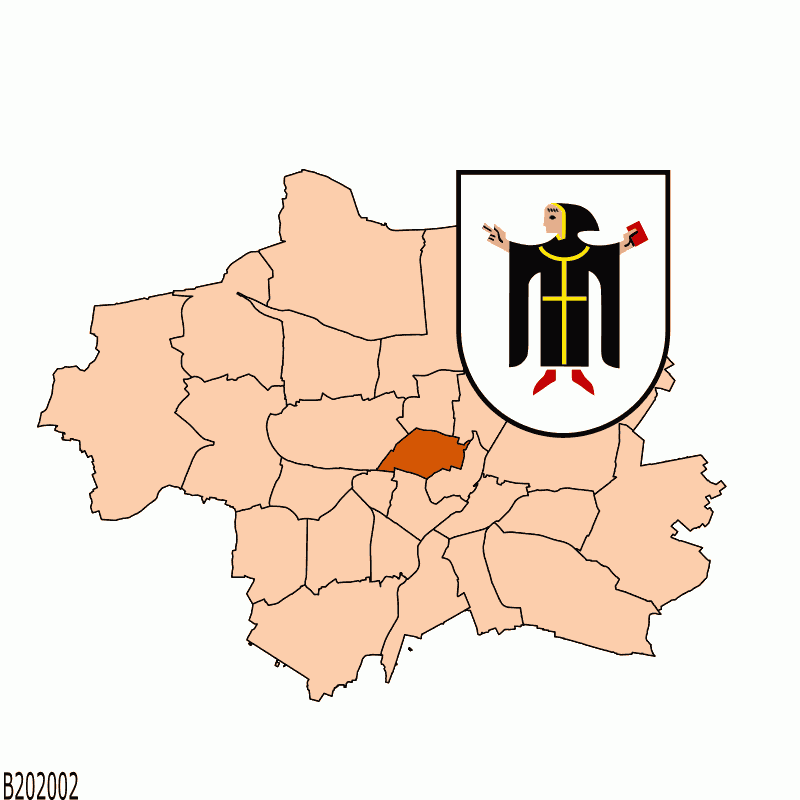Badge of Stadtbezirk 03 Maxvorstadt