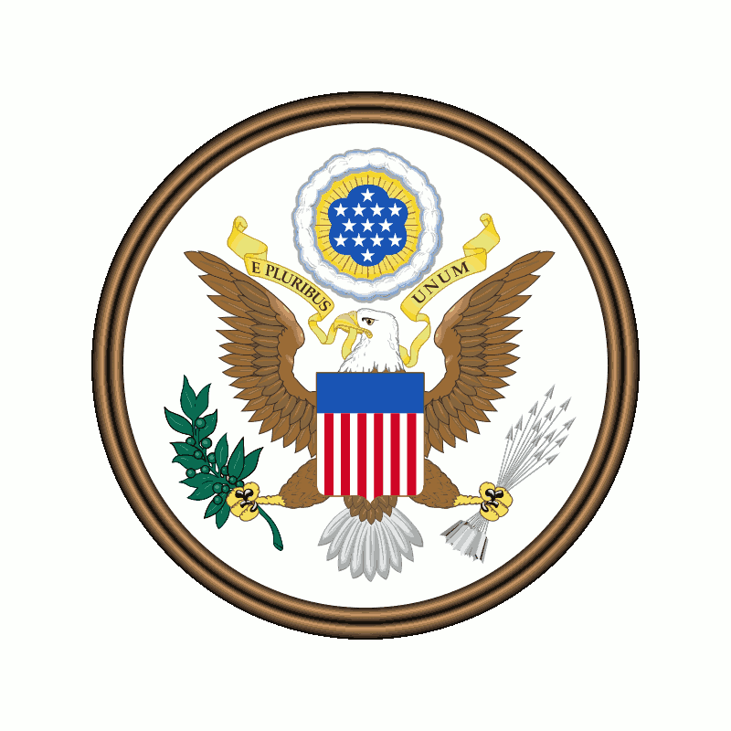 Badge of United States of America