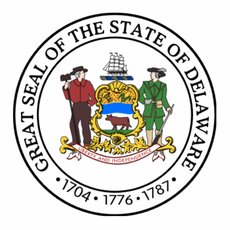 Badge of Delaware