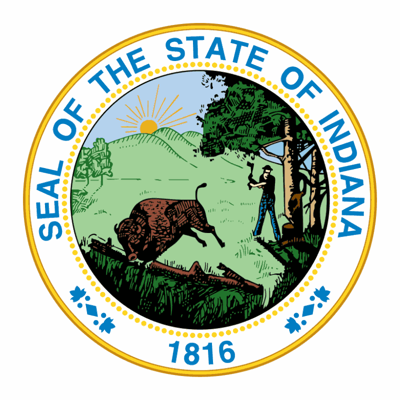 Badge of Indiana