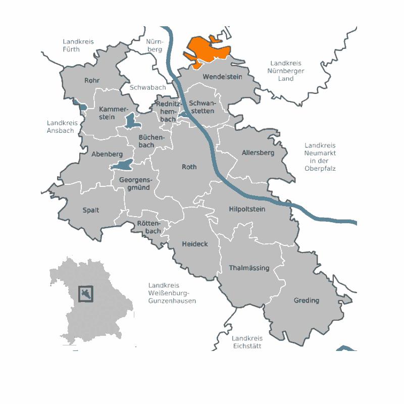Badge of Forst Kleinschwarzenlohe