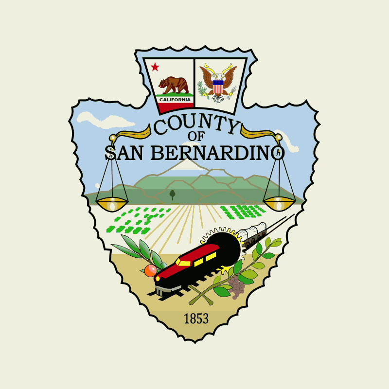 Badge of San Bernardino County
