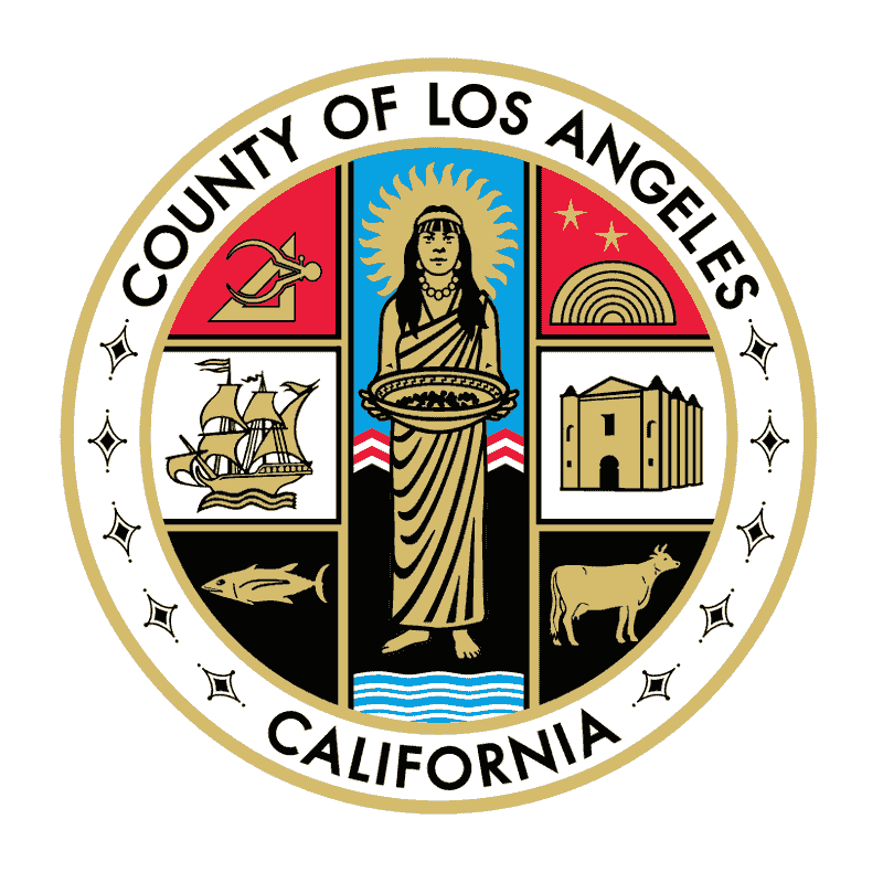 Badge of Los Angeles County