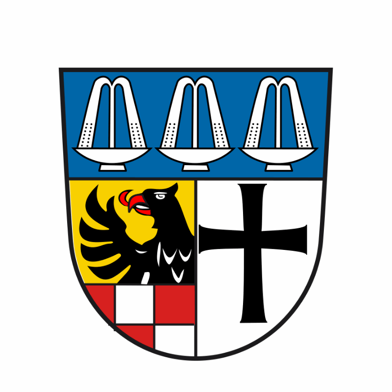 Badge of Landkreis Bad Kissingen