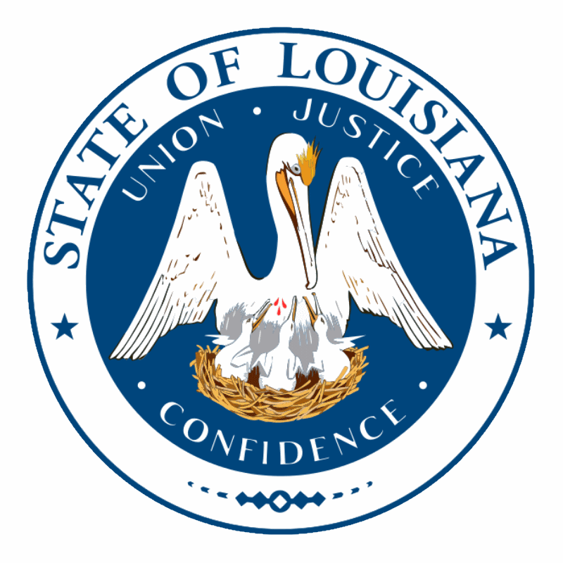 Badge of Louisiana