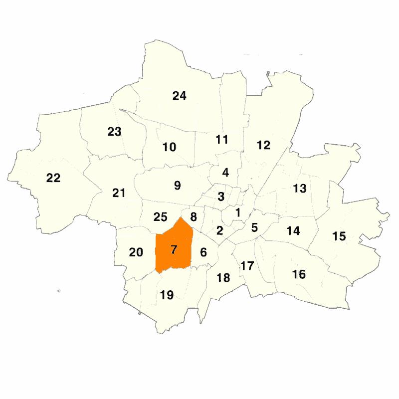 Stadtbezirk 07 Sendling-Westpark