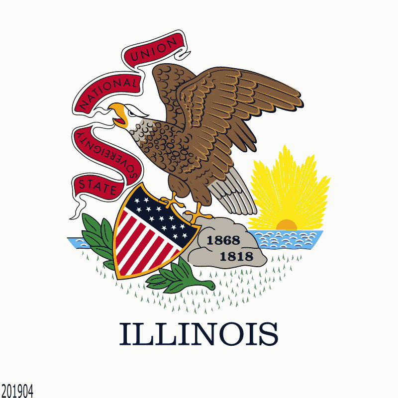 Badge of Illinois