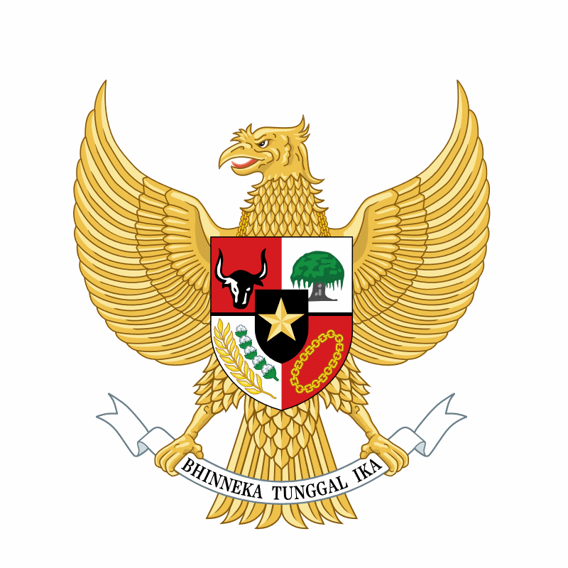 Badge of Indonesia