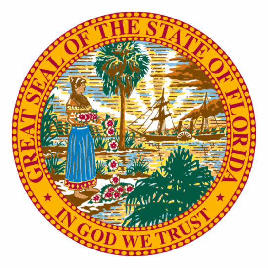 Badge of Florida