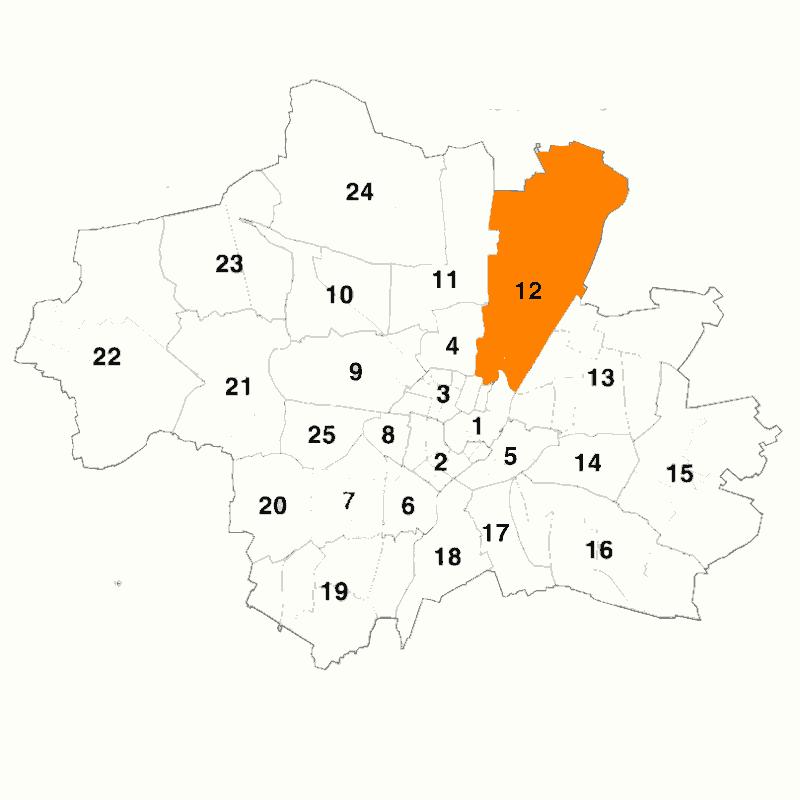 Badge of Stadtbezirk 12 Schwabing-Freimann