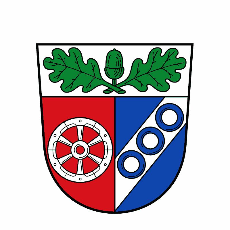 Badge of Landkreis Aschaffenburg