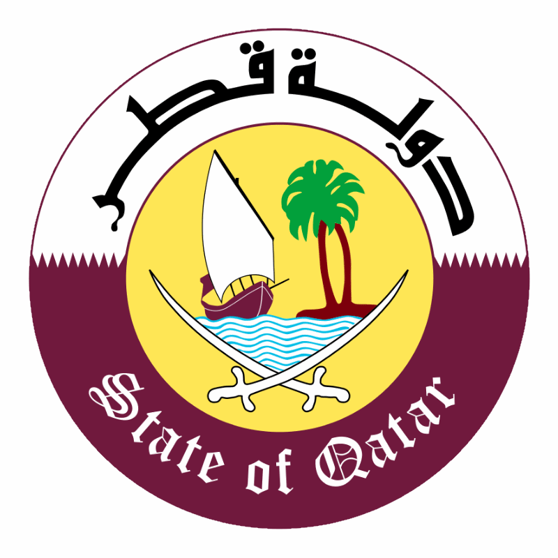 Badge of Qatar