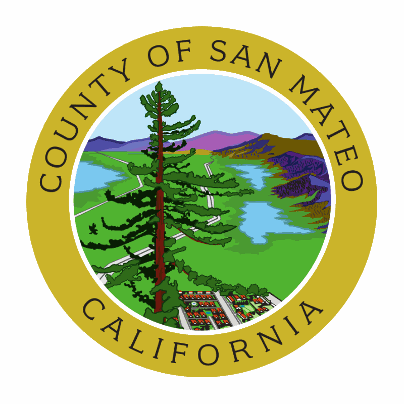 Badge of San Mateo County