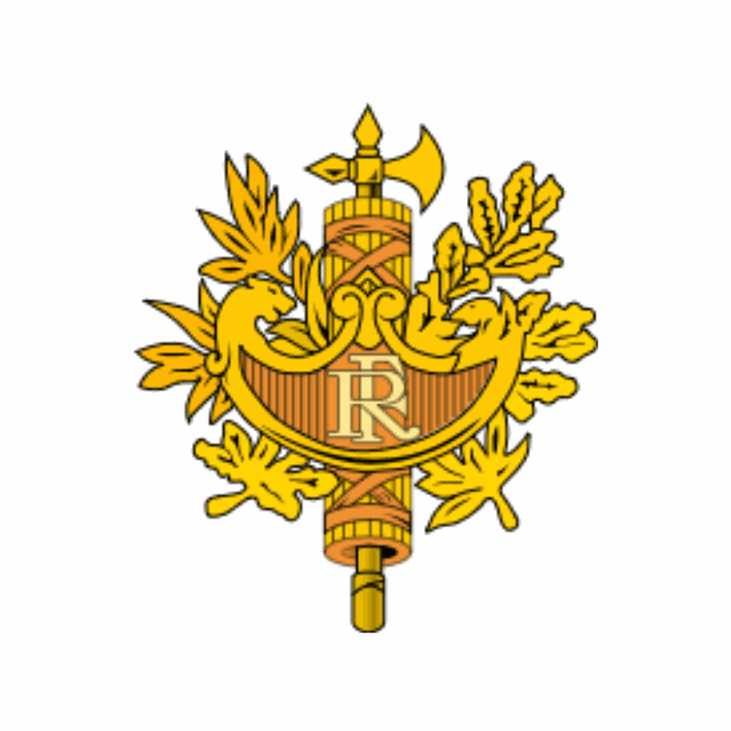 Badge of France