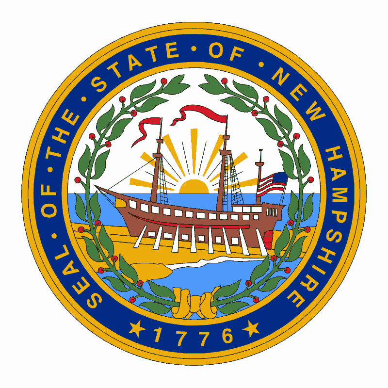 Badge of New Hampshire