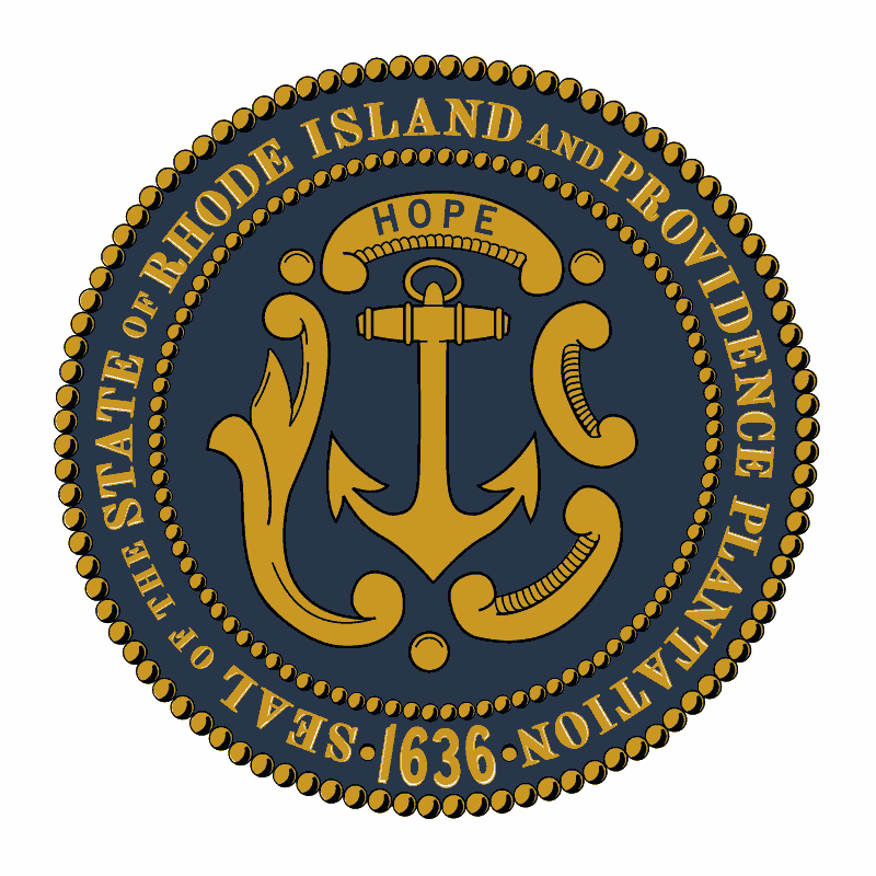 Badge of Rhode Island