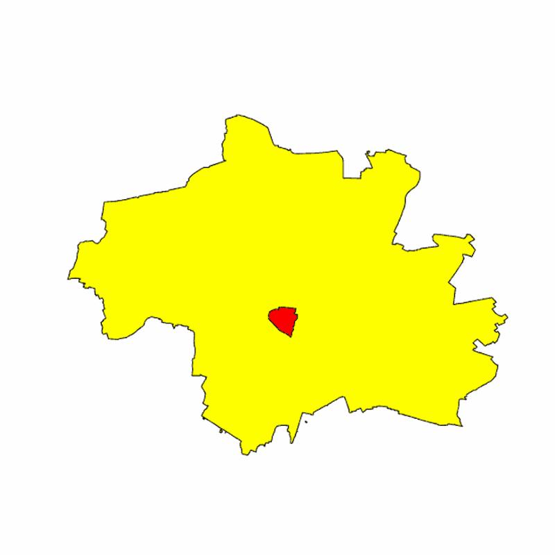 Badge of Stadtbezirk 08 Schwanthalerhöhe