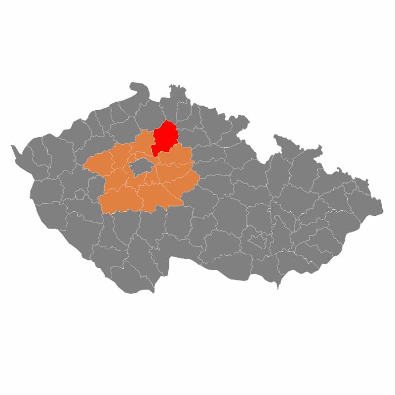 Badge of okres Mladá Boleslav