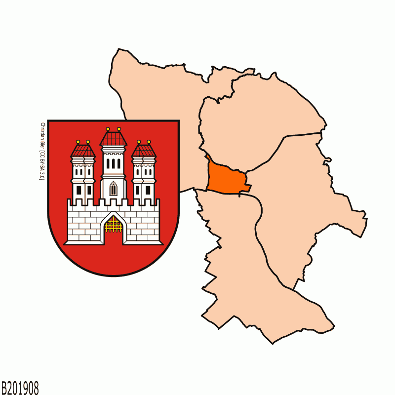 Badge of District of Bratislava I