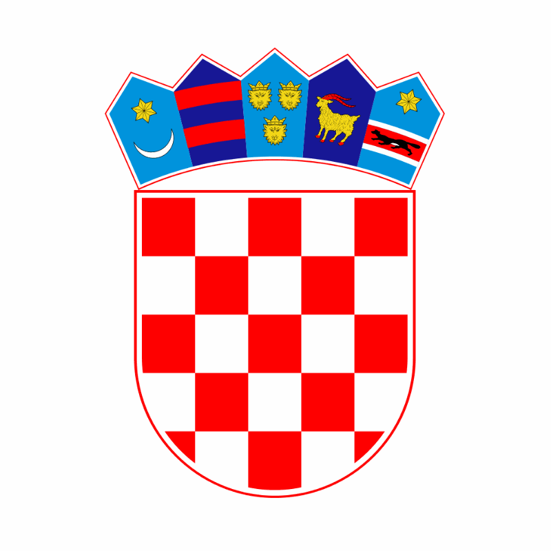Badge of Croatia