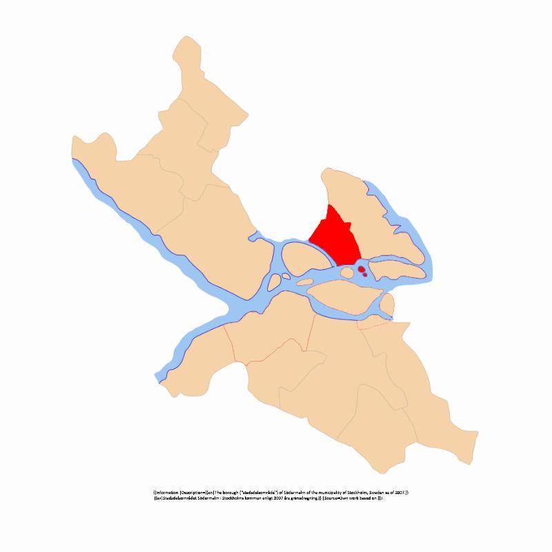 Badge of Norrmalms stadsdelsområde