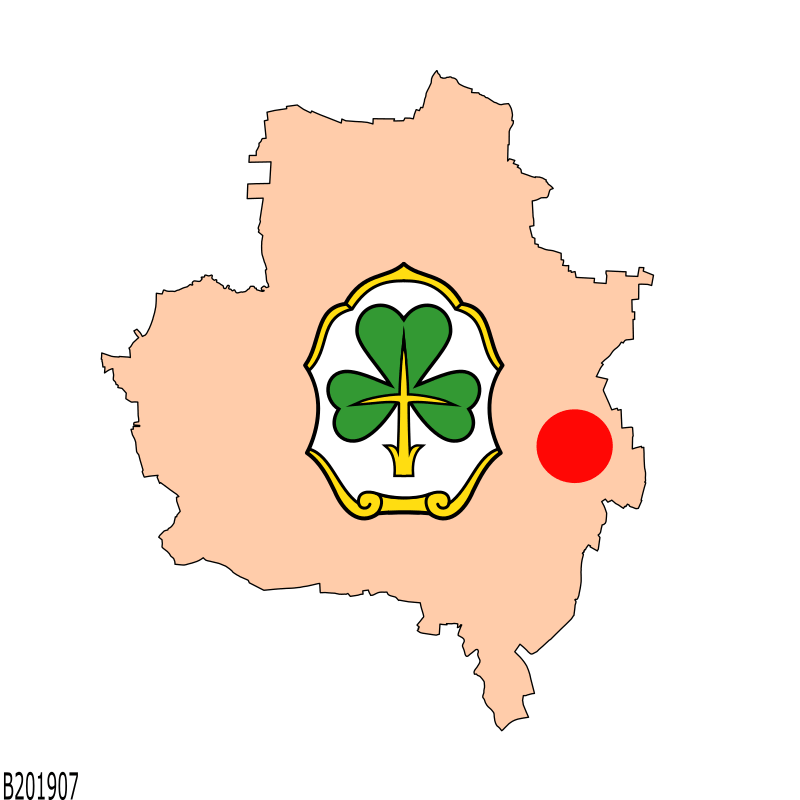 Badge of Poppenreuth