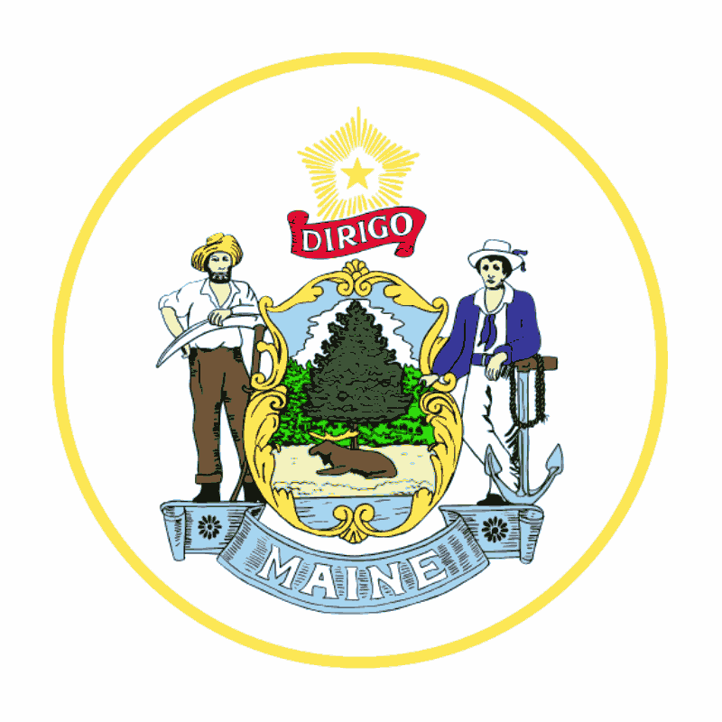 Badge of Maine