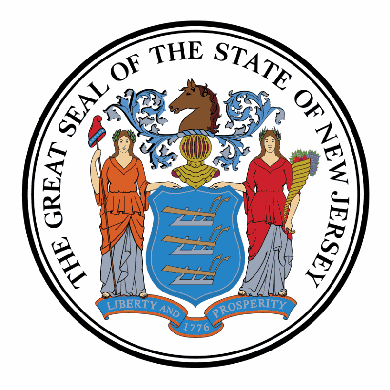 Badge of New Jersey