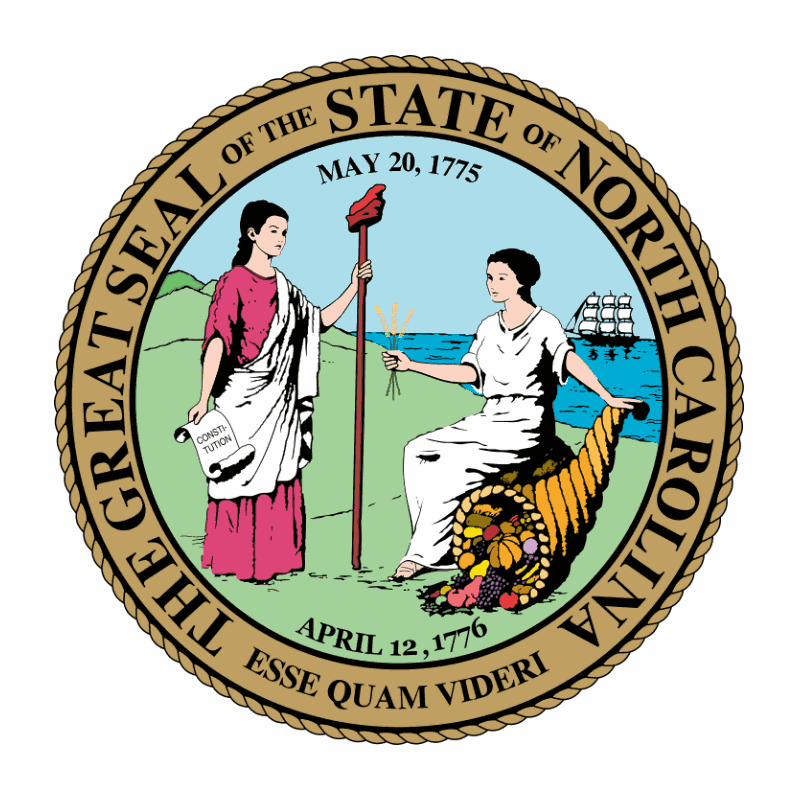 Badge of North Carolina