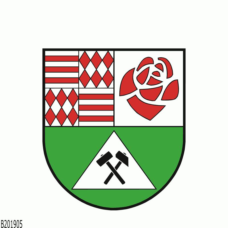 Badge of Landkreis Mansfeld-Südharz