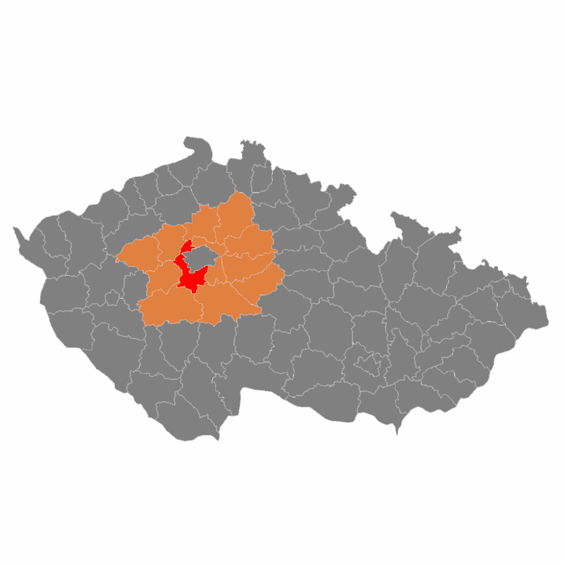 Badge of okres Praha-západ
