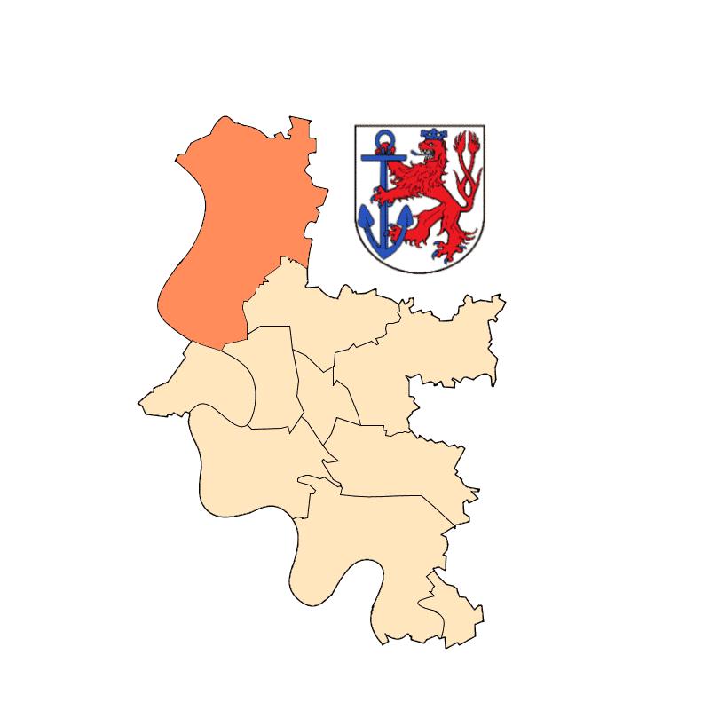 Badge of Stadtbezirk 5