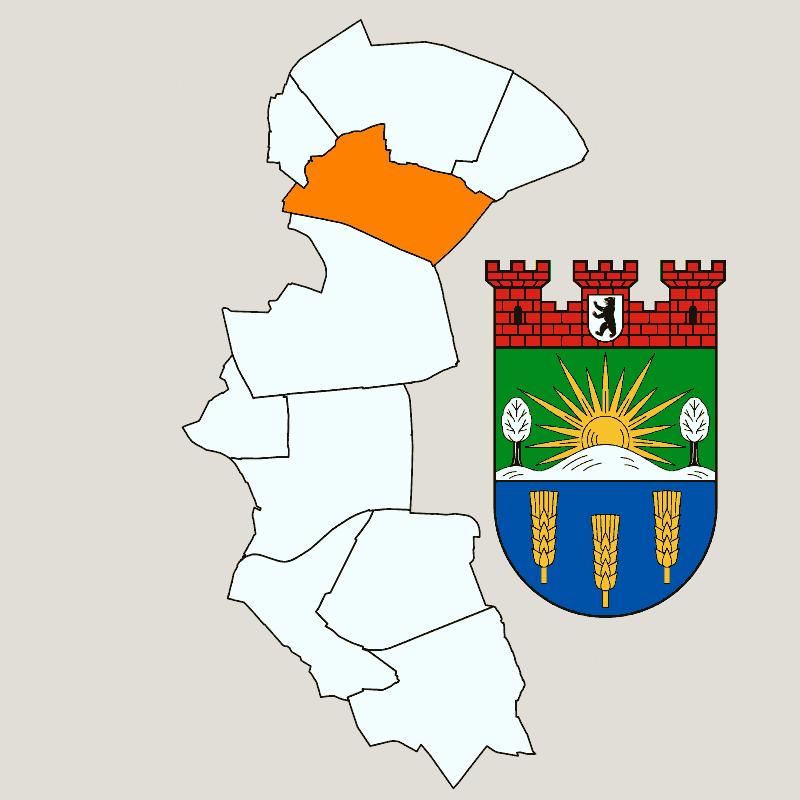 Badge of Neu-Hohenschönhausen
