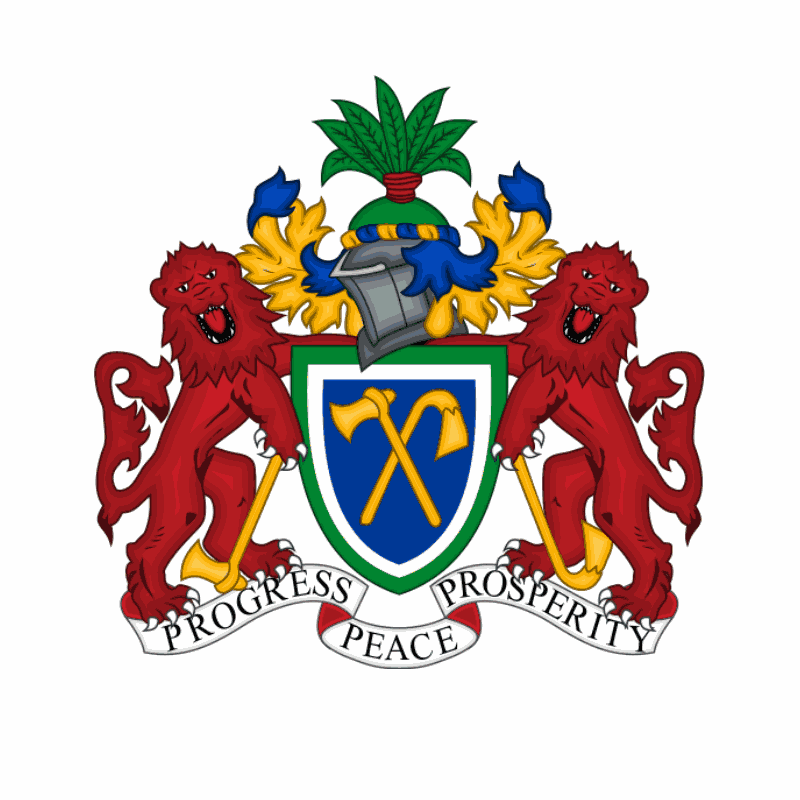 Badge of Gambia
