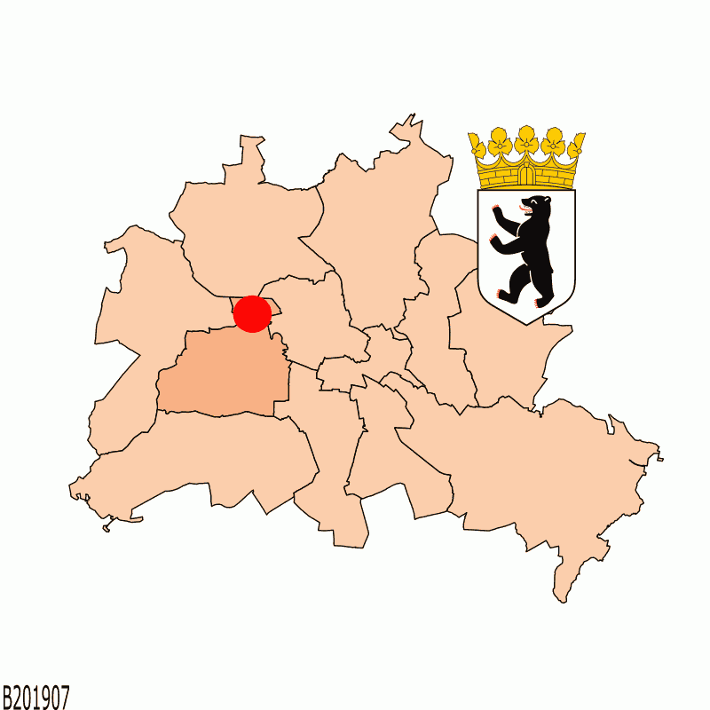 Badge of Charlottenburg-Nord