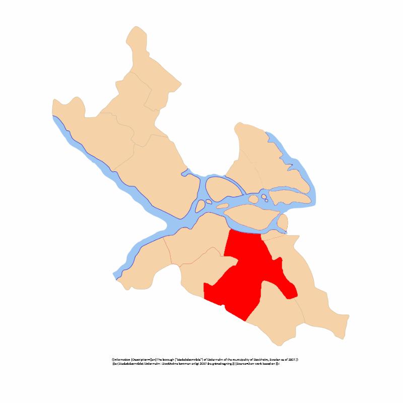 Enskede-Årsta-Vantörs stadsdelsområde