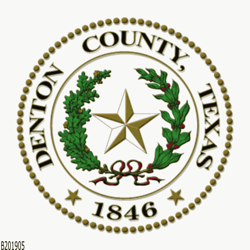 Badge of Denton County