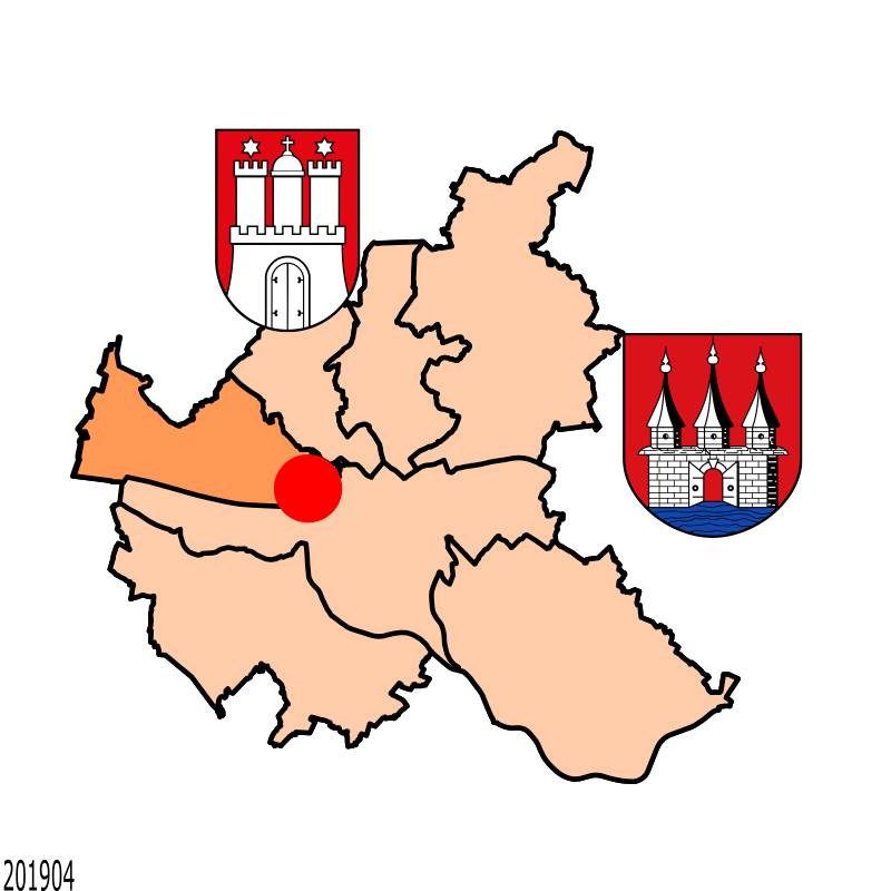 Badge of Altona-Altstadt