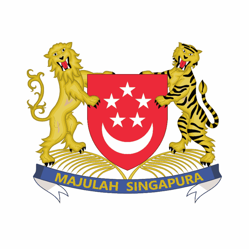Badge of Singapore