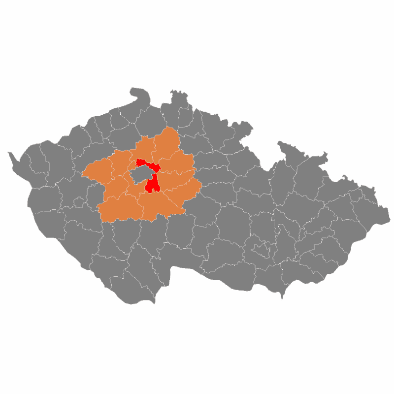 Badge of okres Praha-východ