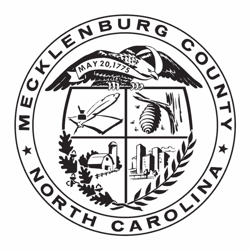 Badge of Mecklenburg County