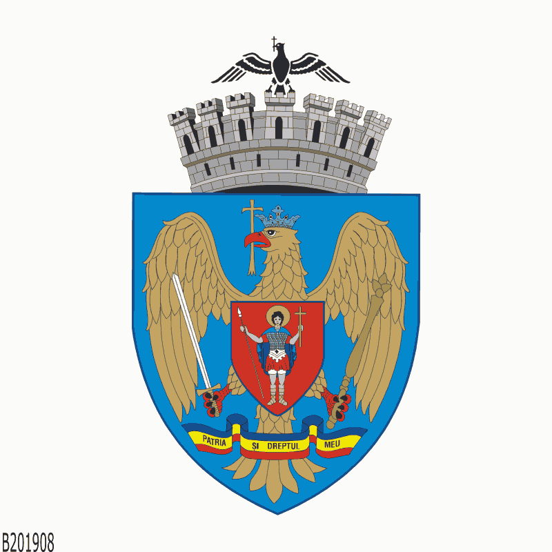 Badge of Bucharest