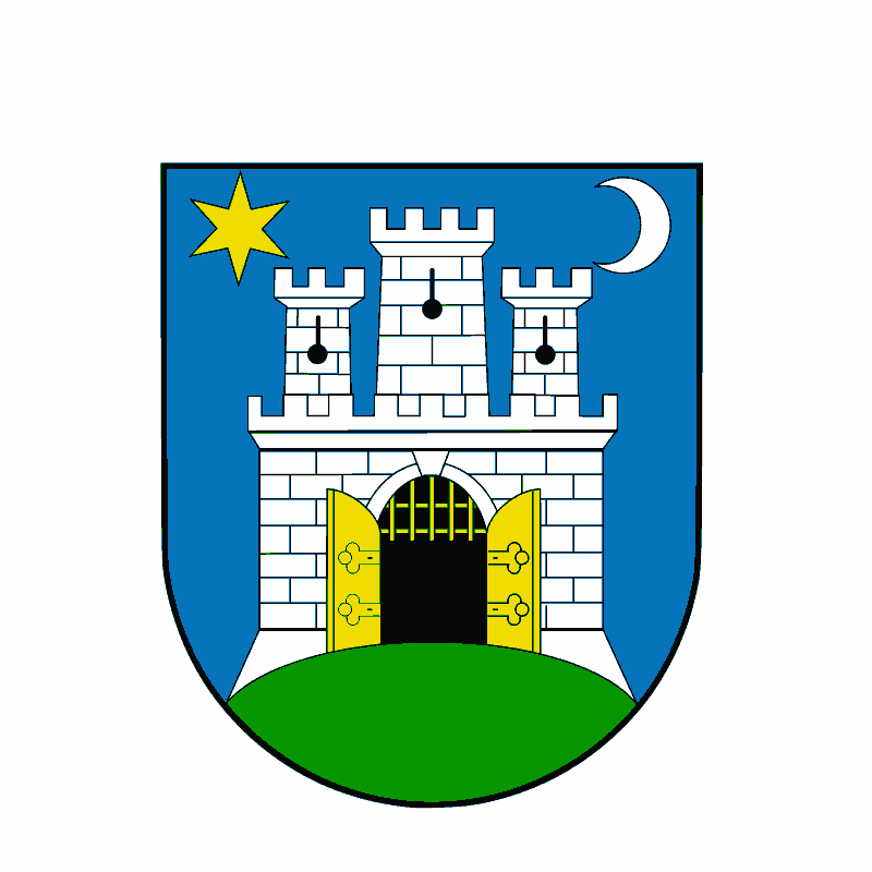 Badge of City of Zagreb