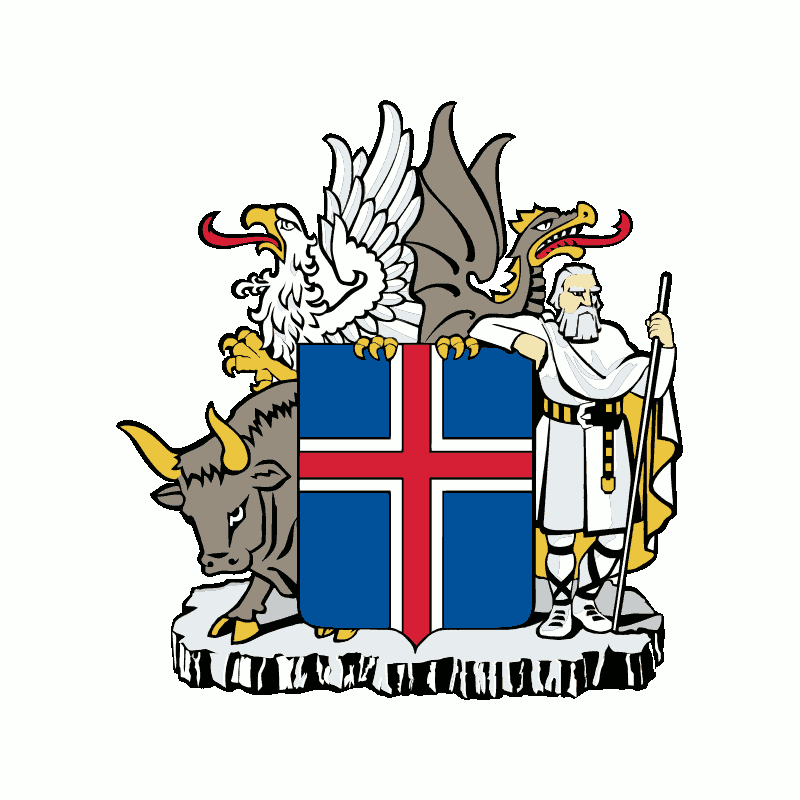 Badge of Iceland
