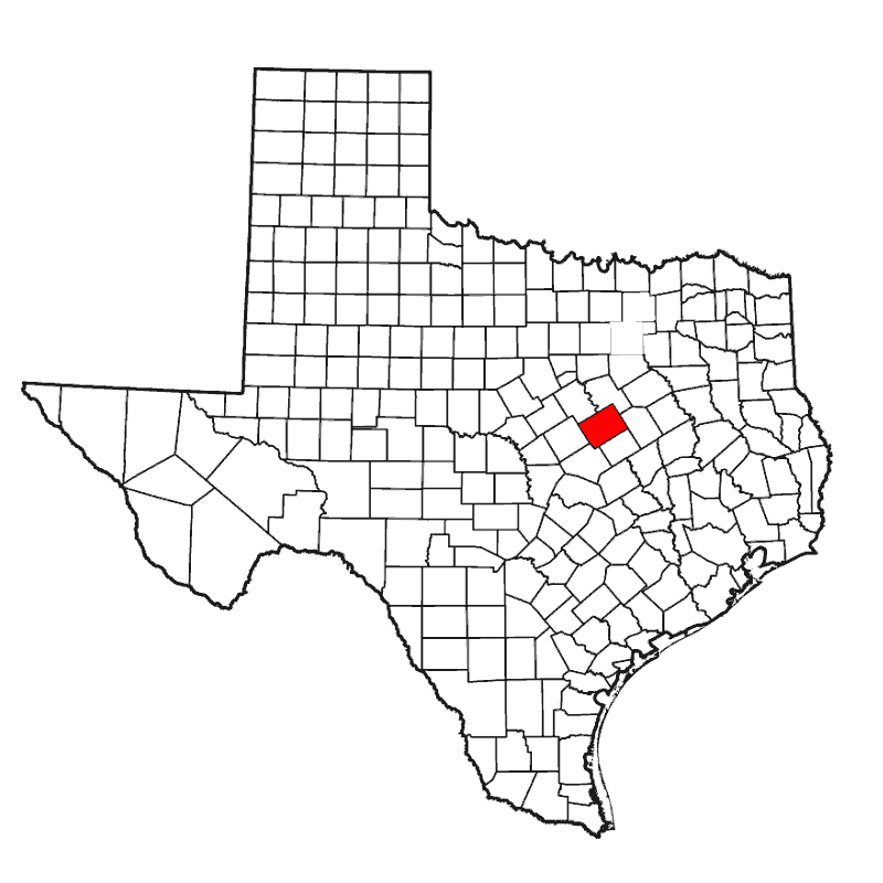 Badge of McLennan County