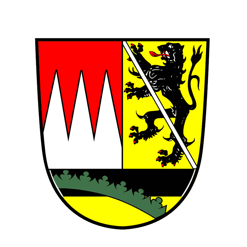 Badge of Landkreis Haßberge