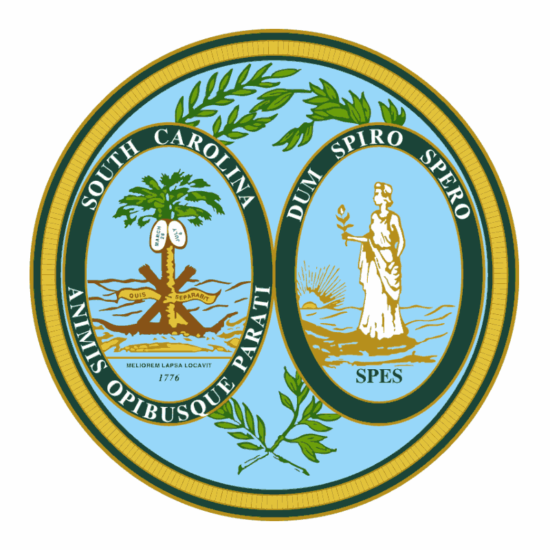 Badge of South Carolina