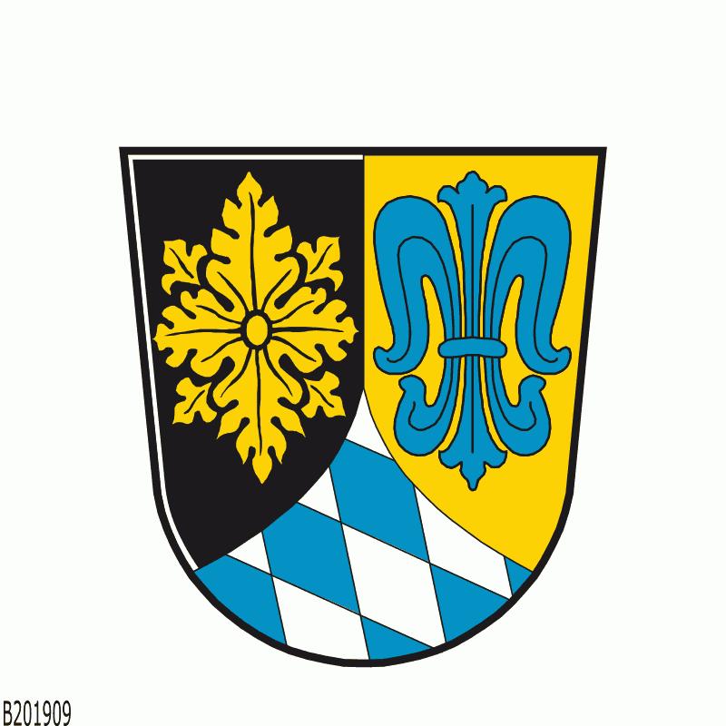 Badge of Landkreis Unterallgäu